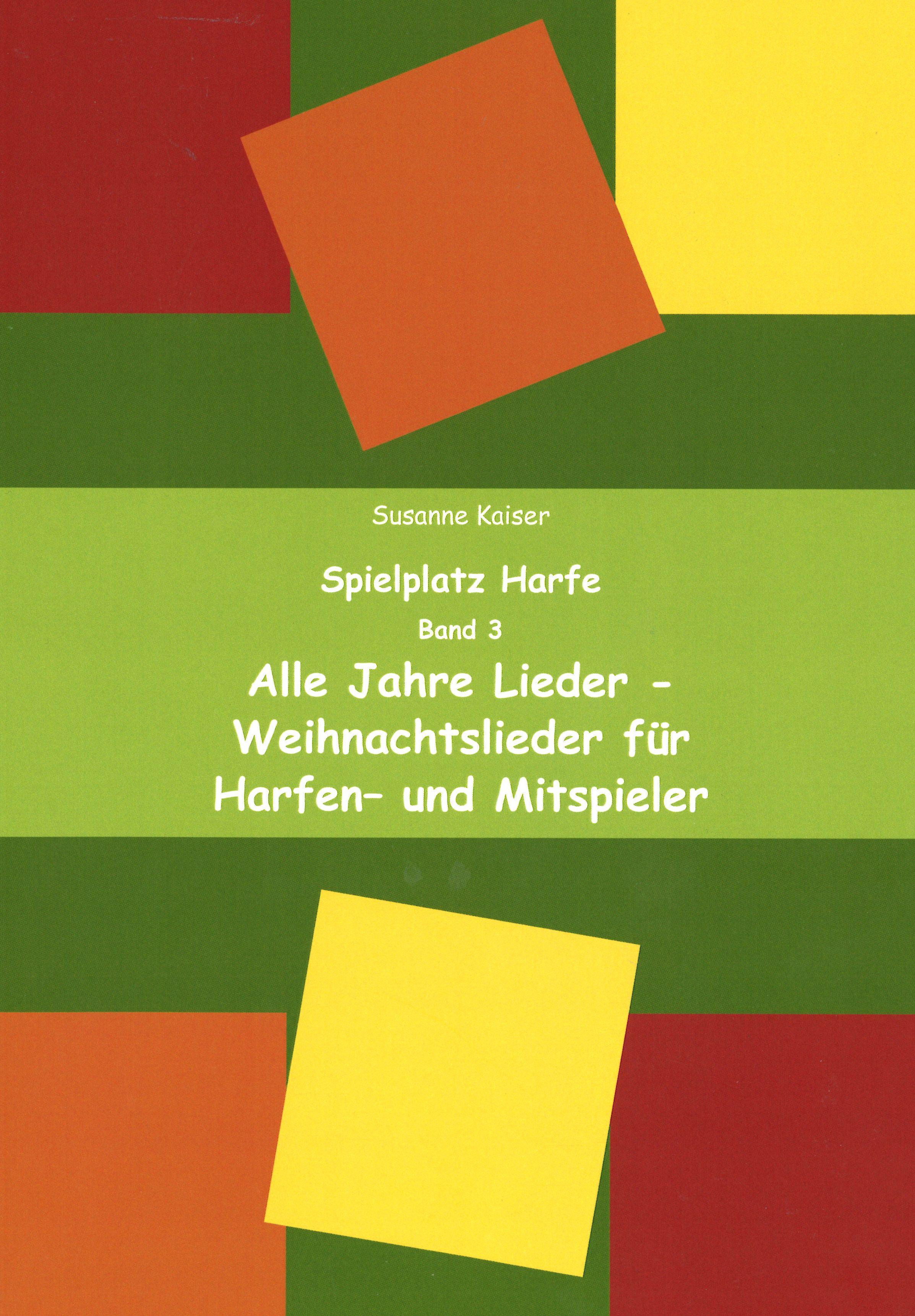 Kaiser S., Spielplatz Harfe Band 3 - Glissando
