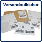 Integrated shipping labels