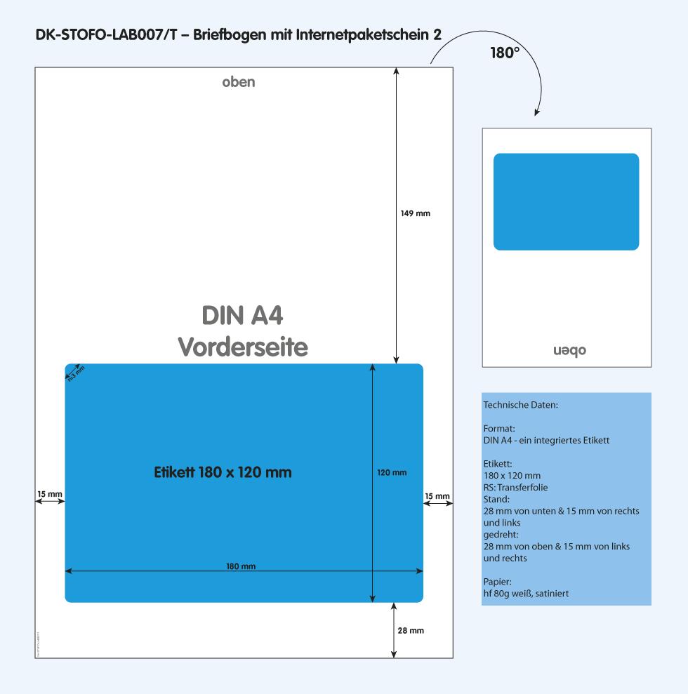 DK-STOFO-LAB007/T - technische Zeichnung
