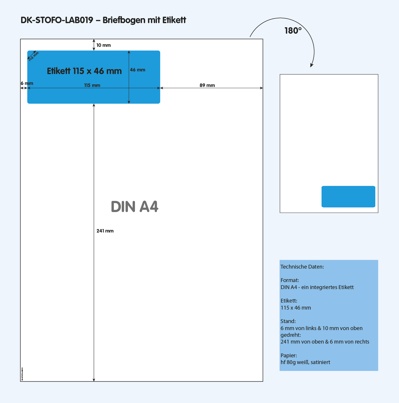 DK-STOFO-LAB019 - technische Zeichnung