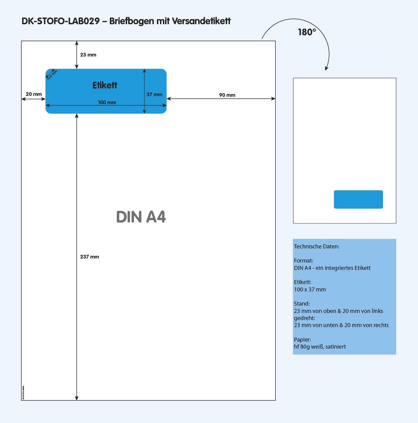 DK-STOFO-LAB029 - technische Zeichnung