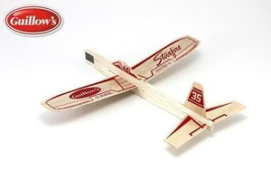 Balsa Glider and Airplane - Starfire