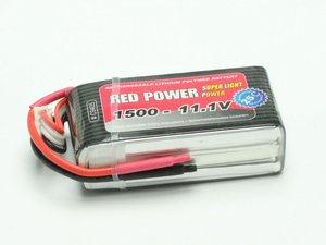 LiPo Akku RED POWER SLP 1500 - 11,1V