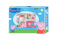 Peppa Pig Puzzle 4 in 1