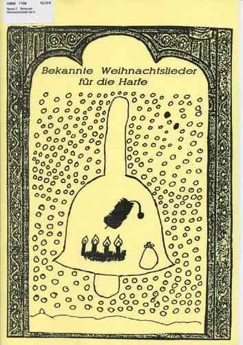 Bekannte Weihnachtslieder Kinder.Siener T Bekannte Weihnachtslieder Für Die Harfe 14 Pieces