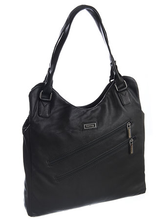 Black Nappa Shopper hoch