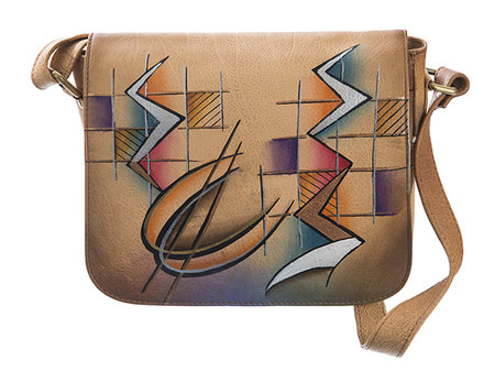 Art+Craft Flap-Umhänger-s- camel