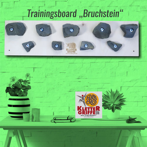 Trainingsboard Naturstein-Optik