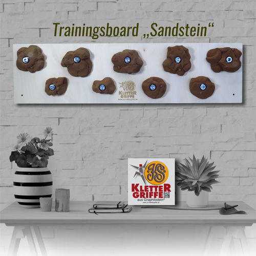 Trainingsboard Sandstein-Optik