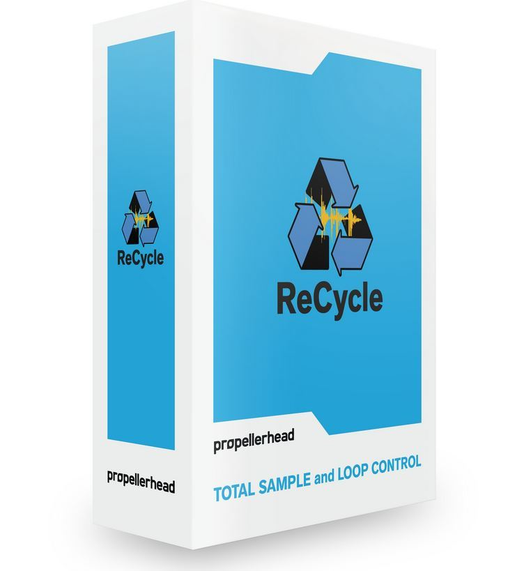 Propellerhead ReCycle 2.2 Sample Beat Editor, eng. Lizenz