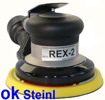 druckluft exzenterschleifer exzenterschleifmaschine 125mm mit absaugung rex 2h5a. Black Bedroom Furniture Sets. Home Design Ideas