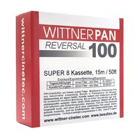 WITTNERPAN 100, Super 8 cartridge, 50ft/15m