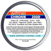 WITTNER Chrome 200D, 16mm 1R, 30.5m