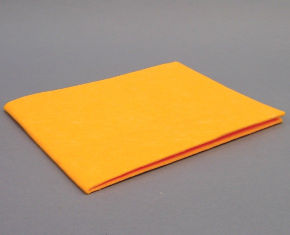 Bodentuch Vlies orange  60 x 70 cm